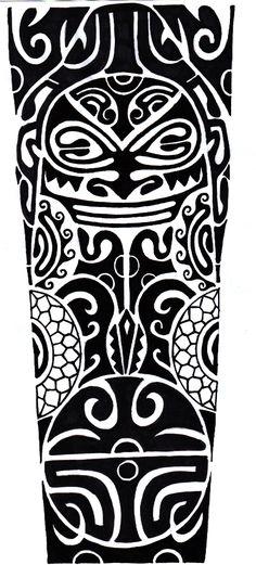 Polynesian Tattoo Designs -