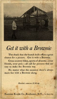 "1923, ""Companion for All the Family"" magazine advertisement for Kodak Brownie cameras."