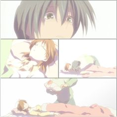 Clannad- Nagisa's death.....I can't even express  how much pain this moment puts every otaku through