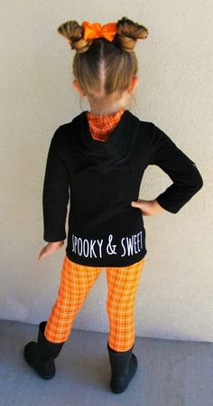 Black Cat Orange Plaid Hoodie Set | Sparkle In Pink Plaid Hoodie, Cute Cat Face, Mix N Match, Fun Prints, Festival Fashion, Pink, Sparkle, Leggings, Orange