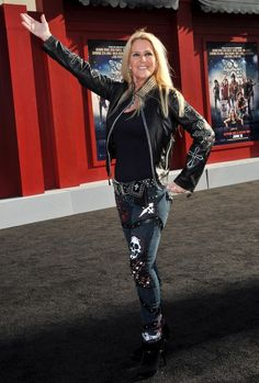 Lita Ford Leather Jacket - Leather Jacket Lookbook - StyleBistro