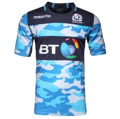 2015-2016 Scotland Macron Rugby Training Jersey (Camo) - Kids [67311] - £40.00 UK Rugby Shop