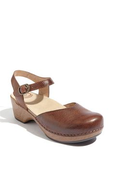 Dansko's Sam clog- my favorite summer shoe.