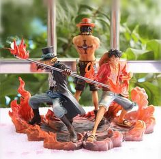 Collections Anime One Piece Figure Jouets Sabo Figurine Statues 18cm