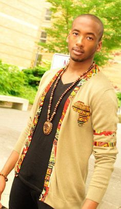African fashion for men.
