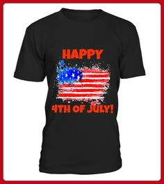 Happy 4th Of July Tee - Geburtstag shirts (*Partner-Link)