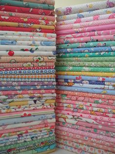 30's Repro Fabric.  Quiltin Gals is a great site for buying reproduction fabric - really good prices.