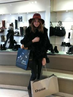 ♔ Made in Chelsea  Milly and her fur