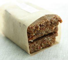Higher Protein Raw, Vegan Snack Bars.