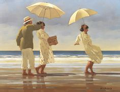The Picnic Party by Jack Vettriano - art print from Easyart.com