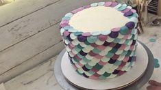 mermaid cake tutorial - robyn loves cake Graham Cracker Crumbs, Graham Crackers, Modeling Chocolate Recipes, Gold Luster Dust, Petal Dust, Beautiful Mermaid, Mermaid Cakes, Lollipop Sticks, Candy Melts