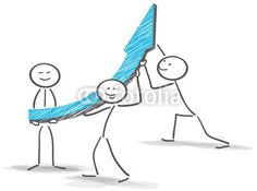 Vektor: success teamwork