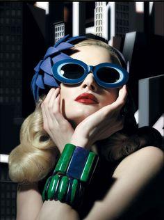 : Cutler & Gross : Fall/Winter 2010 Lookbook, cutler and gross 1930's, sunglass campaigns