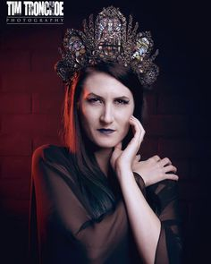 Cathedral Stained Glass Headdress Made to Order by HysteriaMachine on Etsy https://www.etsy.com/se-en/listing/249058230/cathedral-stained-glass-headdress-made