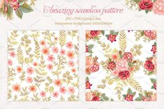 floral, flower, roses, glitter,  gold peach, chic, pink, collection, set, borders, frame, wreath, headers, seamless, pattern, background, banners, wedding, invitation,wedding wreath, greeting cards, crapbooking, gold chic, hand drawn, hand painted, png, wedding, glitter frames, glitter flower, leaves, leaf, spring, clipart, clip art, feminine headers, feminine banner, blog headers, website, website headers, website banner, blog, watercolor, watercolor flower, vase, bouquet, heart…