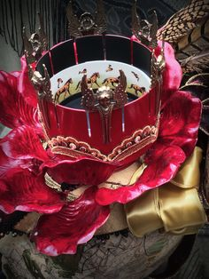Women's Victorian/Steampunk Carnival Hat The by TheSistersBrimm, $300.00