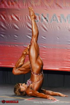 Sheila Bleck Wins The Open Women's Bodybuilding Division At The 2014 IFBB Wings Of Strength Tampa Pro!