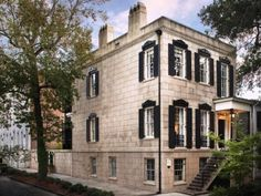 Homes for Sale in 10 Spooky Cities: Savannah, GA >> http://www.frontdoor.com/coolhouses/halloween-countdown-homes-for-sale-in-americas-spookiest-cities?soc=pinterest