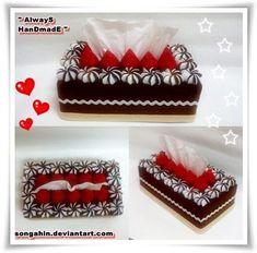 My Tissue Cake Box... by SongAhIn.deviantart.com on @deviantART