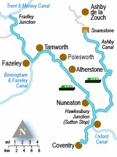 Narrowboats through England!
