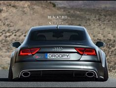 Audi RS7 wide