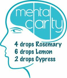 Promote mental clarity,  naturally using essential oils. 4 drops Rosemary 6 drops Lemon 2 drops Cypress add these to a roller ball and top off with fractionated coconut oil or other carrier oil.  Use every day! Questions?  email me at essentialoilswithbetsy@gmail.com