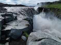 Dettifoss (Europe's most powerful waterfall) in Vatnajökull National Park.