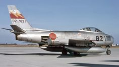 North American F-86F Saber from the Japanese Self Defense Force.