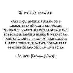 L'intention que doit avoir pour celui qui Appel Allah Islam Religion, Islam Muslim, Hadith, Coran Islam, Faith Quotes, Quran Quotes, Islamic Quotes, Ramadan, Wisdom
