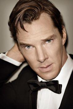 Versión original de la fotografía de Benedict Cumberbatch para la revista GQ.
