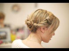 Penteado para noivas com trança e coque duplo por Taciele Alcolea All Things Hair™ mp - YouTube