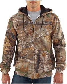 Carhartt Realtree Xtra Camo Midweight WorkCamo® Hooded Sweatshirt $51.29  #Realtreecamo