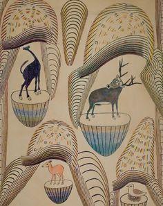 The Folk Art of Martin Ramirez Art And Illustration, Outsider Art, Augustin Lesage, Art Brut, Expositions, Naive Art, Visionary Art, Les Oeuvres, Art Drawings
