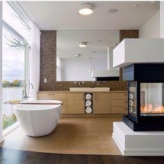 @williamwallaceplumbing #bathroom #taps #interiordesign #australia #architecture #bathrooms #fireplace