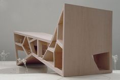 Bridging teahouse model by Fernando Romero Enterprise (FR-EE)