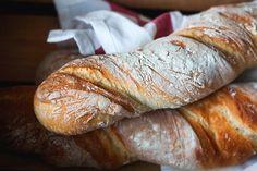 En flûte så lækker og sprød, e t knagende godt brød. Lige som et italiensk flutes skal være og smage. Det kan virkelig godt betale sig a...
