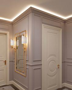 Ceiling Design Living Room, Home Room Design, Dream Home Design, Door Design Interior, Luxury Interior Design, Interior Decorating, Home Entrance Decor, Hallway Designs, Apartment Design