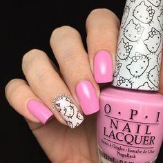 @Polishedinka, your #HelloKittyByOPI nails look great! 'Look At My Bow' looks so cute on you! #OPILoves #Regram #OPIAustralia