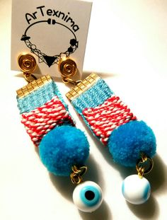 March earrings by ArTexnima Tassels, March, Drop Earrings, Personalized Items, Bracelets, Crafts, Accessories, Jewelry, Stud Earrings