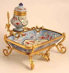 Porcelain Inkwell