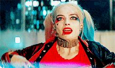 """Harley Quinn Squad- I was like saying the Amanda Waller line to the screen here- """"you go get it, girl"""" haha loved this scene!"""