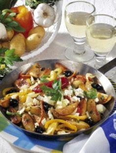 Das Rezept für Kartoffel-Gyrospfanne und weitere kostenlose Rezepte auf LECKER.de