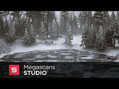 Megascans Studio + UE4: Creating Ice and Snow - YouTube