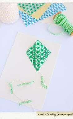 Pretty card in the making. Site has other super cute projects and inspiration in the same colorway.