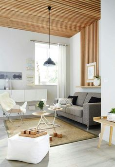 Looking for a Maison Interieur Star. We have Maison Interieur Star and the other about Maison Interieur it free. Living Area, Living Spaces, Living Room, Wooden Ceilings, Interior Exterior, Interior Architecture, Interiores Design, Home Decor Inspiration, Home And Living