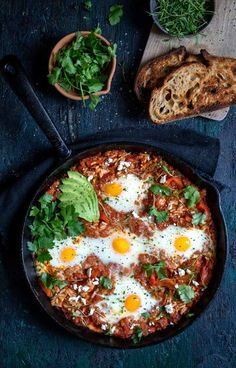 This rice shakshuka made with Allsome Rice, is the perfect warm dish to tantalize those tastebuds. Light Recipes, Rice Recipes, How To Make Hamburgers, Recipe 30, Food Obsession, Fresh Coriander, Tray Bakes, Magazine Online, Breakfast Recipes