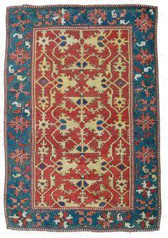 Lotto Oushak rug -16th c.