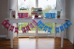 Joy Is At Home: Gender Reveal Party - Team Pink/Team Blue