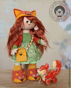 Коллекционные куклы ручной работы. Ярмарка Мастеров - ручная работа Рыжая плутовка. Handmade.