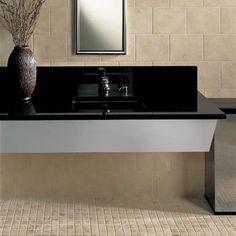 commercial bathroom tile ideas | Bathroom designs courtesy of Daltile® Tile - All rights reserved.
